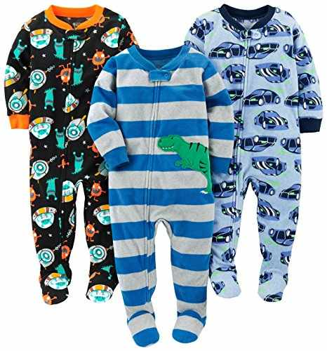 85d4e36d2e57 Simple Joys by Carter s Baby Boys  Toddler 3-Pack Flame Resistant ...